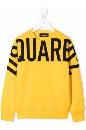 Dsquared2 Logo-print crew neck sweatshirt