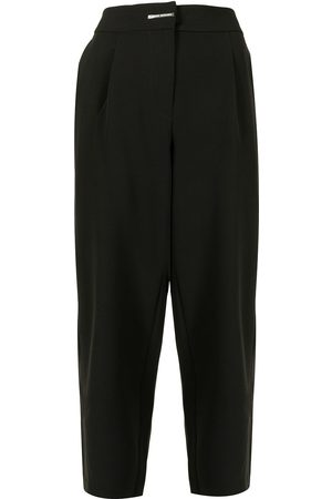 Armani Dames Broeken - High-waisted tapered trousers