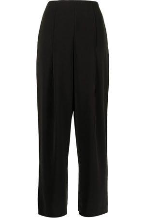 Armani High-waisted wide-leg trousers