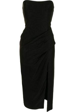 MANNING CARTELL Off-shoulder sleeveless midi dress