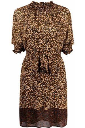 Pinko Leopard print minidress