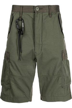 Izzue Two-tone cargo shorts