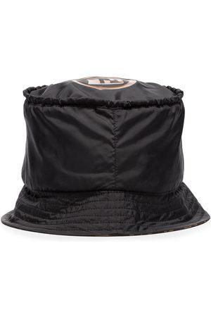 Fendi Dames Buckethat - Wave monogram bucket hat
