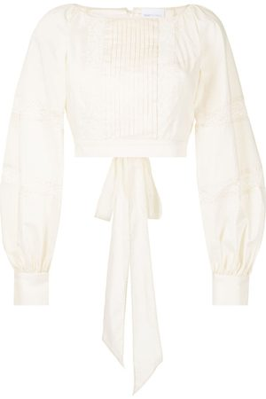 Alice McCall Blissful Song cropped blouse