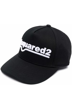Dsquared2 Kids Logo-embroidered cap