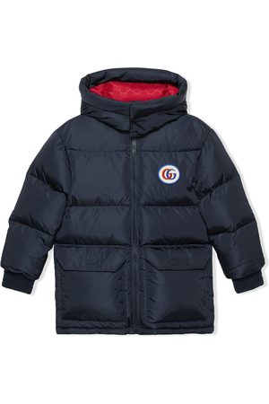 Gucci Kids Double G padded down coat