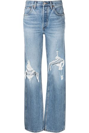 RE/DONE Loose high-waisted jeans