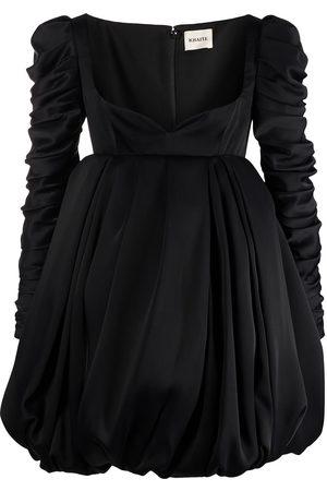 Khaite Katie ruched mini dress