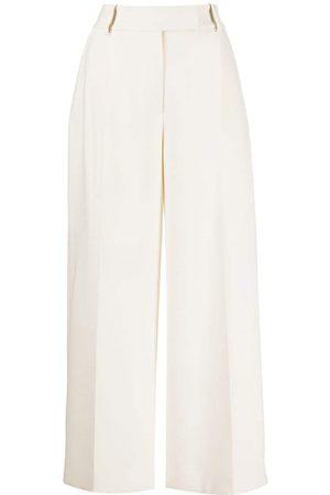 Khaite Maarte wide-leg tailored trousers