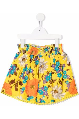 ZIMMERMANN Estelle shirred-waist shorts