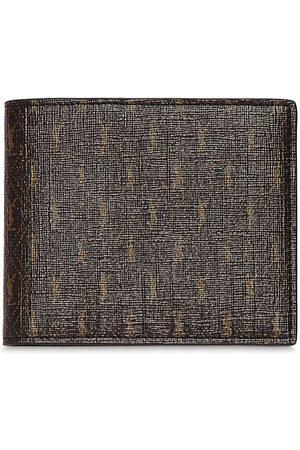 SAINT LAURENT Heren Portefeuilles - Allover Monogram Canvas Wallet