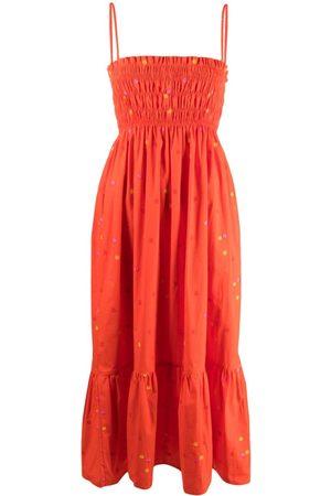 Ciao Lucia Dames Mouwloze jurken - Sleeveless square-neck dress