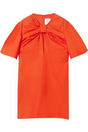 Carolina Herrera Knot-detail mini dress