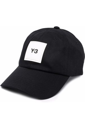 Y-3 Heren Petten - Logo-patch cap