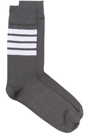 Thom Browne Heren Sokken - 4-Bar stripe socks