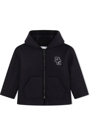 Dolce & Gabbana Jongens Donsjassen - Logo-letter zipped coat