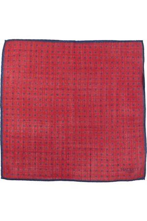Hackett Polka dot-print wool scarf