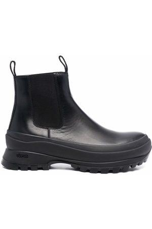 Jil Sander Heren Enkellaarzen - Chunky-sole Chelsea boots