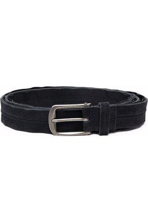 Lanvin Heren Riemen - Buckled leather belt