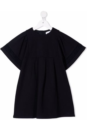 Chloé Meisjes Feestjurken - Broderie-anglaise trim dress