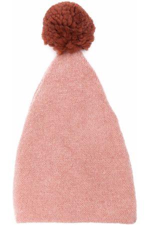 Caffe' D'orzo Meisjes Mutsen - Adele pom-pom knitted hat
