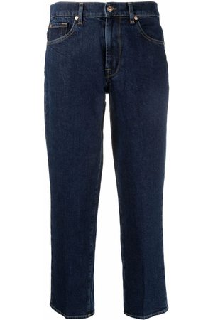 7 for all Mankind Dames Straight - Mid-rise straight jeans