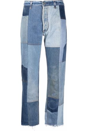RE/DONE Dames High waisted - 70 high-rise cropped jeans
