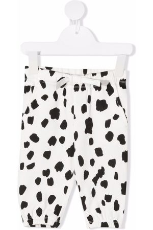 Stella McCartney Dalmatian spots track pants