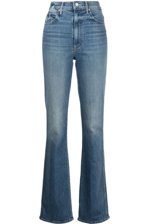 Mother Dames Straight - High-rise straight-leg jeans
