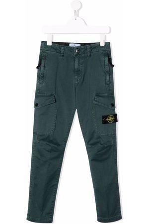 Stone Island Straight-leg cargo pants