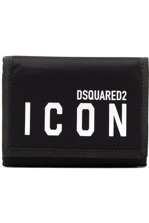 Dsquared2 Heren Portefeuilles - Icon logo print wallet