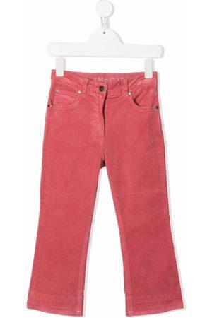 Stella McCartney Meisjes Straight - Logo-patch straight-legjeans