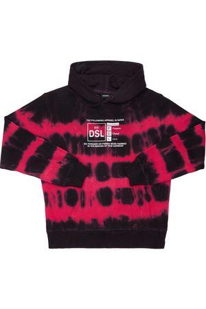 DIESEL KIDS Meisjes Sweaters - Printed Cotton Sweatshirt Hoodie