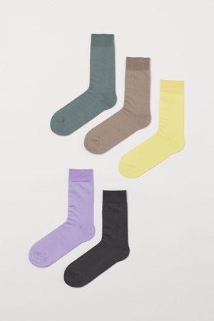 H&M 5 paar sokken