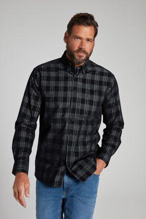 JP 1880 Heren Overhemden - Grote Maten Corduroy Overhemd, Heren