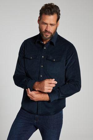 JP 1880 Grote Maten Corduroy Overhemd, Heren