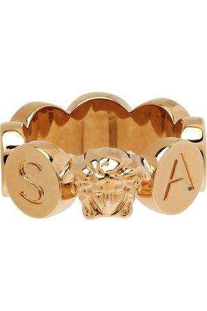 VERSACE Heren Ringen - Gold Medusa Logo Ring