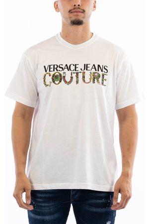 VERSACE R Logo Bijoux T-shirt Organic Cotton