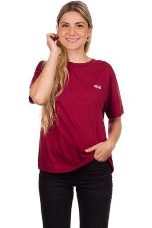 Vans Junior V Boxy T-Shirt rood