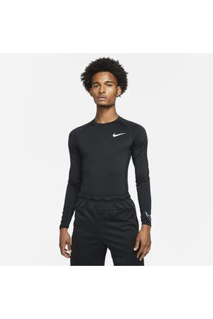 Nike Pro Dri-FIT Herentop met lange mouwen en strakke pasvorm