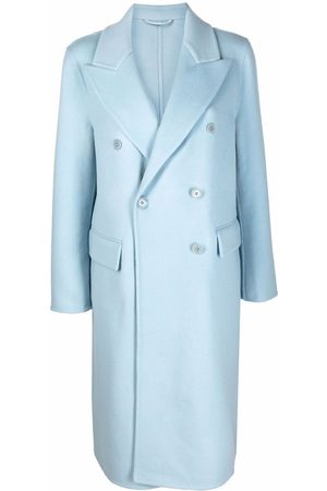 ERMANNO SCERVINO Dames Wollen jassen - Double-breasted felted wool coat