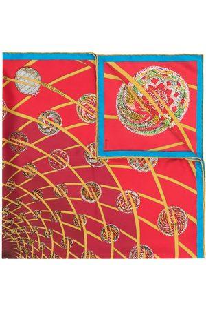 Hermès 1990s pre-owned Les Feux de L'Espace scarf