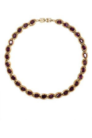 Givenchy Pre-Owned 1970s-1980s stone-embellished choker