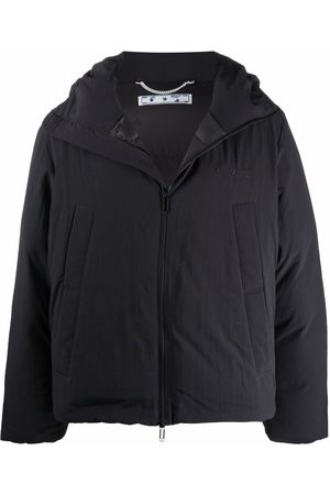 OFF-WHITE MINIMAL HOODED PUFFER