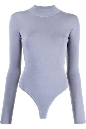 DION LEE Open-back longsleeved bodysuit