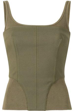 DION LEE Dames Korsetten - Contour ribbed corset top