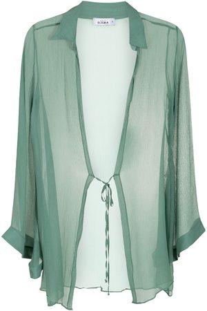 AMIR SLAMA Dames Strandjurken - Silk beach dress