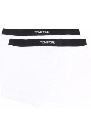 Tom Ford Heren Ondergoed - Logo-waistband briefs (pack of 2)