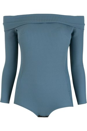 AMIR SLAMA Dames Bodysuits - Off-shoulder bodysuit