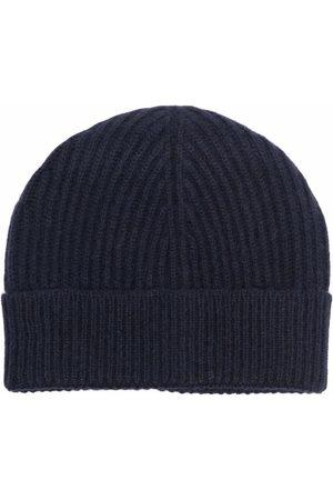Maison Margiela Heren Mutsen - Ribbed-knit tonal beanie